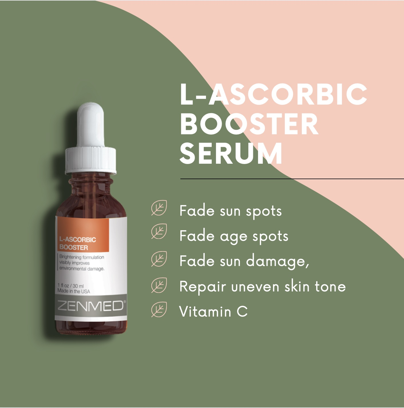 Zenmed L-Ascorbic Booster Serum is a Perfect Serum for your Face