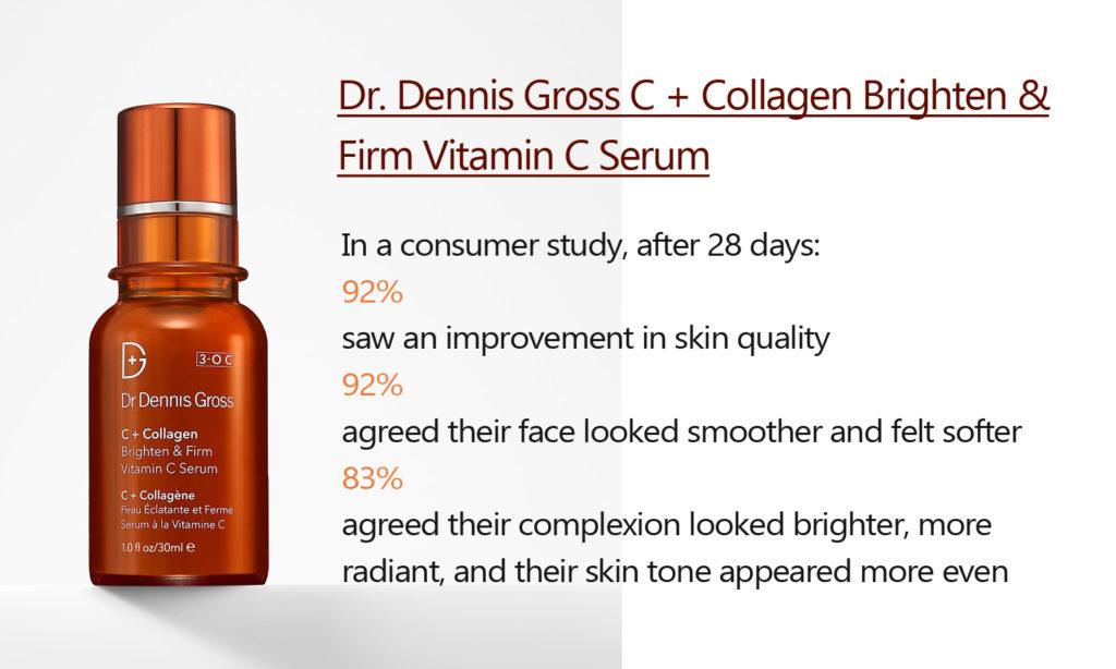 Dr. Dennis Gross C + Collagen Brighten & Firm Vitamin C Serum ratedvitaminserums.com