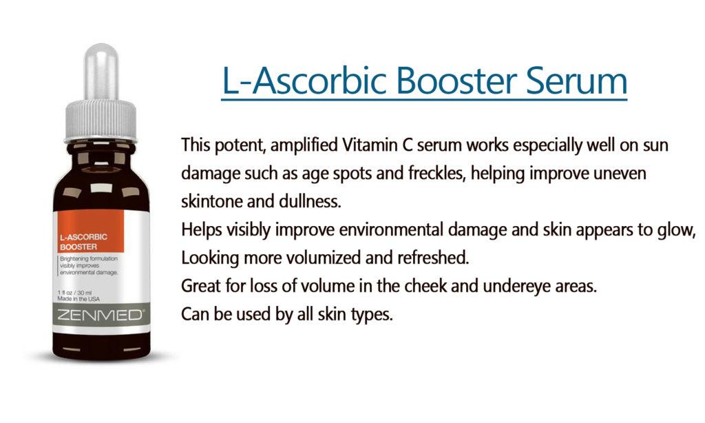 Zenmed L-Ascorbic Booster Serum ratedvitamincserums.com